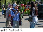 Купить «День Победы в Москве», фото № 5885896, снято 9 мая 2014 г. (c) Okssi / Фотобанк Лори