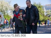 Купить «День Победы в Москве», фото № 5885908, снято 9 мая 2014 г. (c) Okssi / Фотобанк Лори