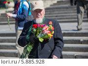 Купить «День Победы в Москве», фото № 5885928, снято 9 мая 2014 г. (c) Okssi / Фотобанк Лори
