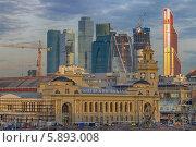 Купить «Киевский вокзал», фото № 5893008, снято 23 марта 2014 г. (c) Алексей Назаров / Фотобанк Лори