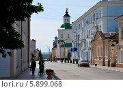 Тихая Елецкая улица (2008 год). Редакционное фото, фотограф Павел Бодров / Фотобанк Лори