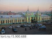 Иркутск. Железнодорожный вокзал (2011 год). Редакционное фото, фотограф Павел Бодров / Фотобанк Лори