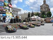 Киев. Майдан независимости (2014 год). Редакционное фото, фотограф Светлана Пирожук / Фотобанк Лори