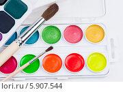 Акриловые краски. Стоковое фото, фотограф Бушаева Екатерина / Фотобанк Лори
