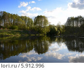 У озера. Стоковое фото, фотограф Онипенко Михаил / Фотобанк Лори