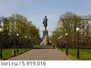 Купить «Памятник Максиму Горькому в Нижнем Новгороде», фото № 5919016, снято 22 октября 2018 г. (c) Igor Lijashkov / Фотобанк Лори