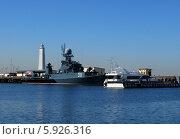 Морской пейзаж. Кронштадт (2014 год). Редакционное фото, фотограф Юлия Подгорная / Фотобанк Лори
