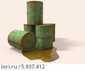 Старые бочки. Стоковая иллюстрация, иллюстратор Руслан Багаутдиинов / Фотобанк Лори