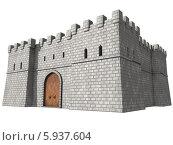 Крепость. Стоковая иллюстрация, иллюстратор Руслан Багаутдиинов / Фотобанк Лори