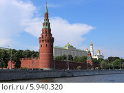Купить «Водовзводная башня Московского Кремля, Москва», эксклюзивное фото № 5940320, снято 25 мая 2014 г. (c) Алексей Гусев / Фотобанк Лори