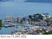 Купить «Яхты в Мармарисе, Турция», фото № 5941432, снято 2 мая 2014 г. (c) Stockphoto / Фотобанк Лори