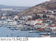 Купить «Крым Балаклава», фото № 5942228, снято 4 января 2014 г. (c) Сергей Сучилкин / Фотобанк Лори