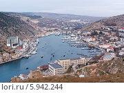 Купить «Крым, Балаклава», фото № 5942244, снято 4 января 2014 г. (c) Сергей Сучилкин / Фотобанк Лори