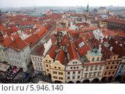 Крыши домов в Праге (2013 год). Редакционное фото, фотограф Светлана Пальцева / Фотобанк Лори