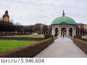 Парк Хофгартен в Мюнхене (2013 год). Стоковое фото, фотограф Алексей Яковлев / Фотобанк Лори