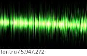 Зеленый эквалайзер. Стоковая анимация, видеограф Александр Дейнега / Фотобанк Лори