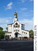 Благовещенский кафедральный собор в городе Биробиджане (2014 год). Стоковое фото, фотограф Ольга Разуваева / Фотобанк Лори