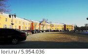 Купить «Петрозаводск, ансамбль Круглой площади (площадь Ленина)», видеоролик № 5954036, снято 4 апреля 2014 г. (c) Павел С. / Фотобанк Лори