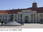 Национальный музей Литвы. Вильнюс (2014 год). Редакционное фото, фотограф Иван Козлов / Фотобанк Лори