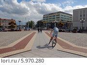 Купить «Городская площадь. Калининград», эксклюзивное фото № 5970280, снято 25 января 2020 г. (c) Svet / Фотобанк Лори