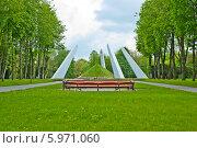 Купить «Курган Бессмертия. Город Лида», фото № 5971060, снято 13 мая 2014 г. (c) Василий Аксюченко / Фотобанк Лори