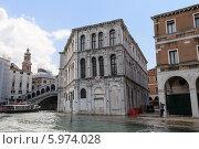 Купить «Вид на Гранд-Канал. Дворец Палаццо деи Камерлинги. Венеция. Италия», фото № 5974028, снято 4 ноября 2013 г. (c) Евгений Ткачёв / Фотобанк Лори