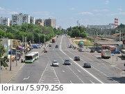 Купить «Фрязевская улица, Москва, Россия», эксклюзивное фото № 5979256, снято 4 июня 2014 г. (c) lana1501 / Фотобанк Лори