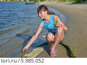 Прохлада у реки (2014 год). Редакционное фото, фотограф Николай Сальников / Фотобанк Лори