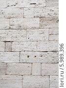 Купить «Стена из известняковых блоков, фон», фото № 5989396, снято 8 июня 2014 г. (c) Александр Степанов / Фотобанк Лори