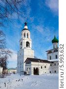 Купить «Свято-Введенский Толгский женский монастырь в Ярославле зимой», фото № 5993632, снято 8 марта 2013 г. (c) Mikhail Starodubov / Фотобанк Лори