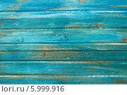 Синий дощатый фон. Стоковое фото, фотограф Елена Медведева / Фотобанк Лори
