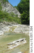 Горная река. Стоковое фото, фотограф Ирина Каралкина / Фотобанк Лори