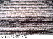 Купить «Фактура полосатой ткани», фото № 6001772, снято 16 ноября 2009 г. (c) Татьяна Юни / Фотобанк Лори