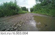 Купить «Сельская дорога», видеоролик № 6003004, снято 12 июня 2014 г. (c) Иван Четвериков / Фотобанк Лори