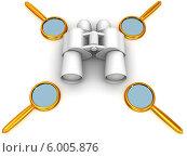 Купить «Бинокль и увеличительные лупы», иллюстрация № 6005876 (c) Maksym Yemelyanov / Фотобанк Лори