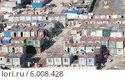 Купить «Строительный городок с бараками», видеоролик № 6008428, снято 13 июня 2014 г. (c) Кекяляйнен Андрей / Фотобанк Лори