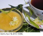 Липовый мед и чашка чая. Стоковое фото, фотограф ирина реброва / Фотобанк Лори