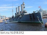 Купить «Крейсер Аврора», фото № 6018012, снято 23 июня 2012 г. (c) Владимир Тучин / Фотобанк Лори