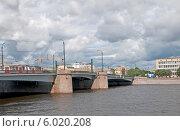 Купить «Гренадерский мост через Большую Невку. Санкт-Петербург», эксклюзивное фото № 6020208, снято 18 июня 2014 г. (c) Румянцева Наталия / Фотобанк Лори