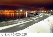 Ночной Мурманск. Стоковое фото, фотограф Маркин Роман / Фотобанк Лори