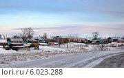 Зимняя Чесма (Челябинская область) Стоковое фото, фотограф Виктор Карпов / Фотобанк Лори