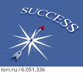 Купить «Compass of success», фото № 6051336, снято 6 декабря 2019 г. (c) Sergey Nivens / Фотобанк Лори