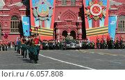 Парад на Красной Площади в Москве, посвященный 69-й годовщине победы в Великой отечественной войне (2014 год). Редакционное видео, видеограф Игорь Долгов / Фотобанк Лори