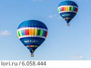 Купить «Воздушные шары», эксклюзивное фото № 6058444, снято 29 июня 2014 г. (c) Михаил Широков / Фотобанк Лори