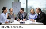Купить «Business people having a meeting», видеоролик № 6060352, снято 12 ноября 2013 г. (c) Syda Productions / Фотобанк Лори