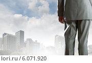 Купить «Bossy businessman», фото № 6071920, снято 23 июня 2018 г. (c) Sergey Nivens / Фотобанк Лори