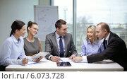 Купить «Business people having a meeting», видеоролик № 6073728, снято 3 декабря 2013 г. (c) Syda Productions / Фотобанк Лори