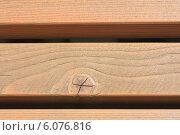 Купить «Стена из деревянных брусков», фото № 6076816, снято 22 июня 2014 г. (c) Николай Коржов / Фотобанк Лори