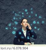 Купить «Upset businesswoman», фото № 6078904, снято 28 июня 2013 г. (c) Sergey Nivens / Фотобанк Лори