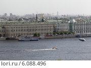 Купить «Санкт-Петербург, летний полдень на Большой Неве», эксклюзивное фото № 6088496, снято 5 июня 2014 г. (c) Дмитрий Неумоин / Фотобанк Лори